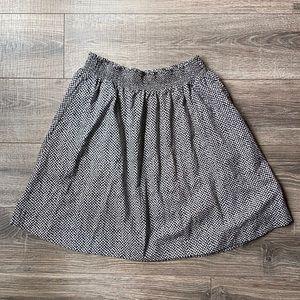 Eileen Fisher XL black & white skirt